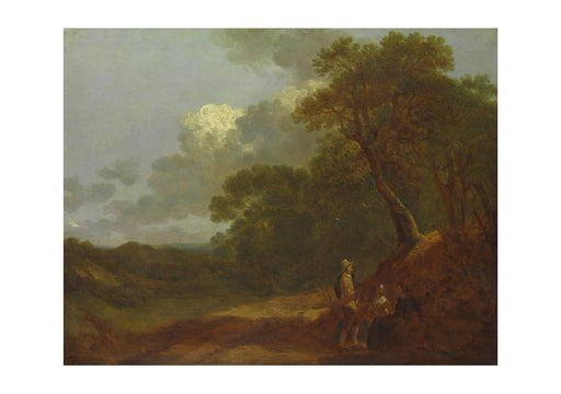 Thomas Gainsborough - Wooded Landscape with People
