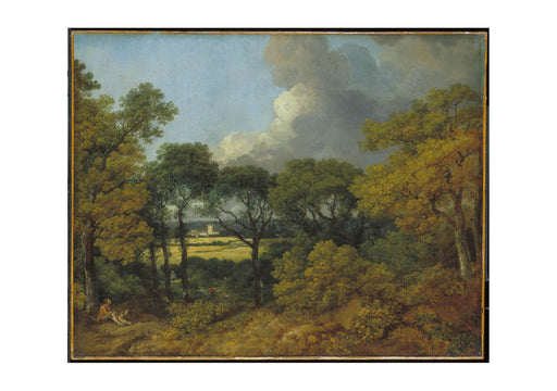 Thomas Gainsborough - Wooded Landscape with a Peasant Resting