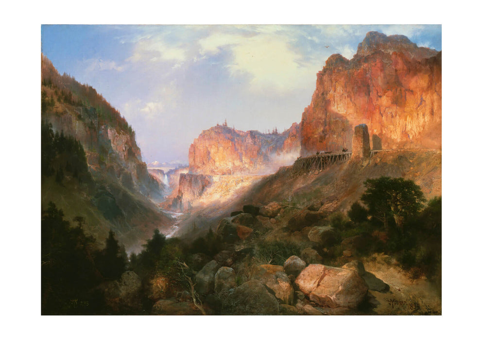 Thomas Moran - Golden Gate Yellowstone National Park