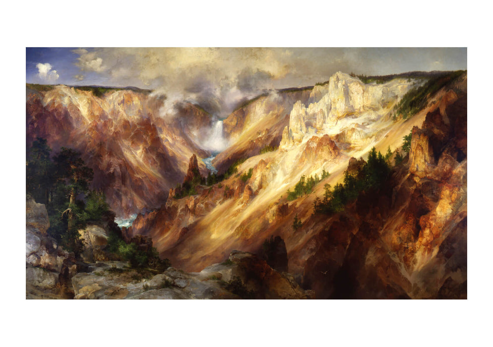 Thomas Moran - Grand Canyon of the Yellow stone