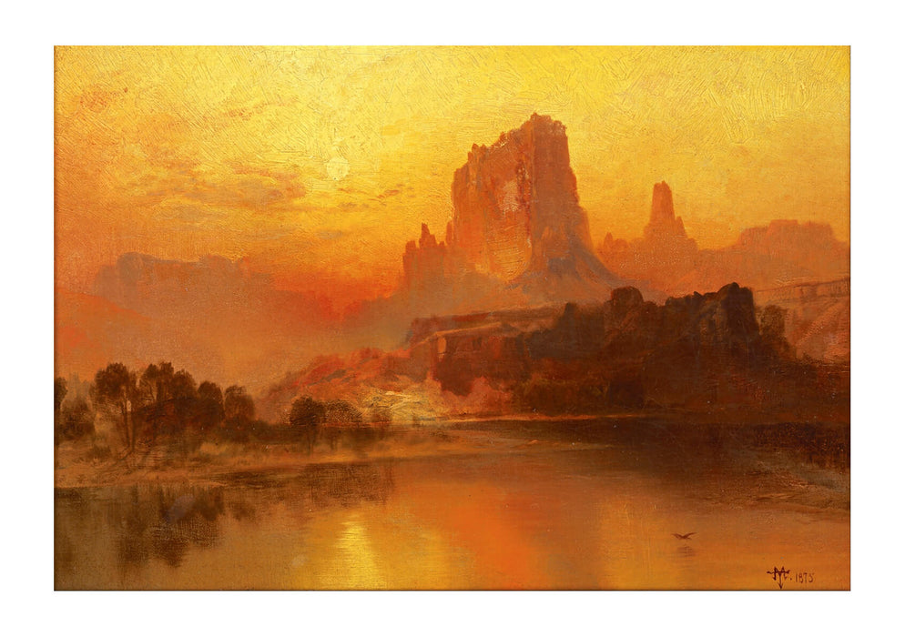 Thomas Moran - The Golden Hour