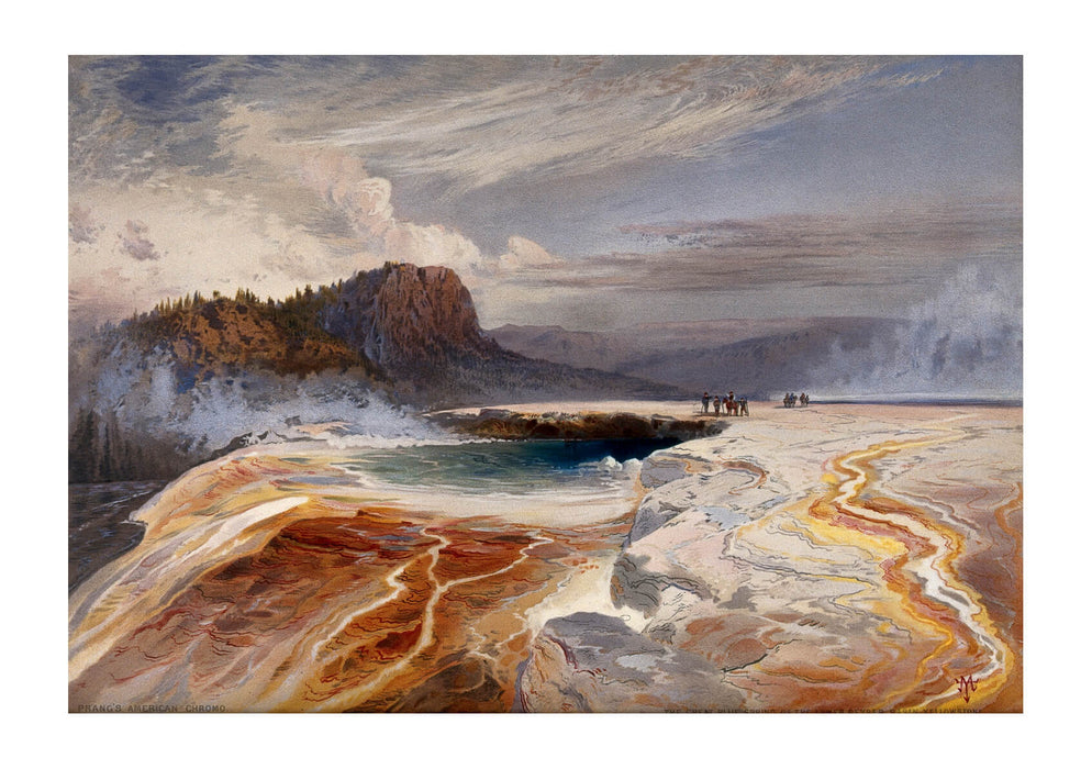 Thomas Moran - The Great Blue Spring of the Lower Geyser basin Yellowstone Wellcome V0025226