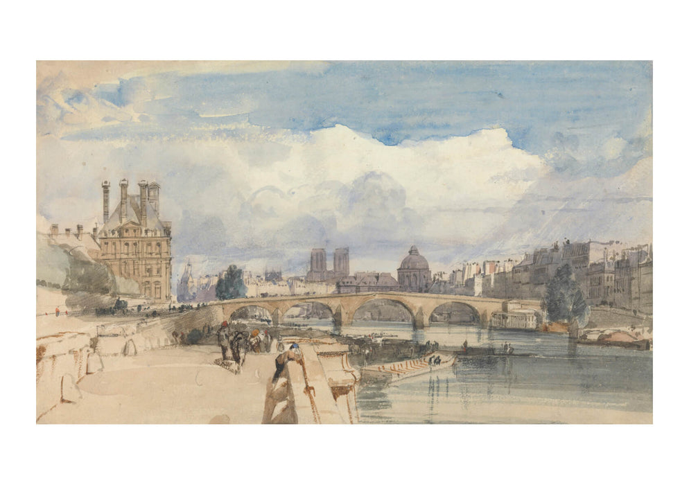 Thomas Shotter Boys Le Pont Royal Paris