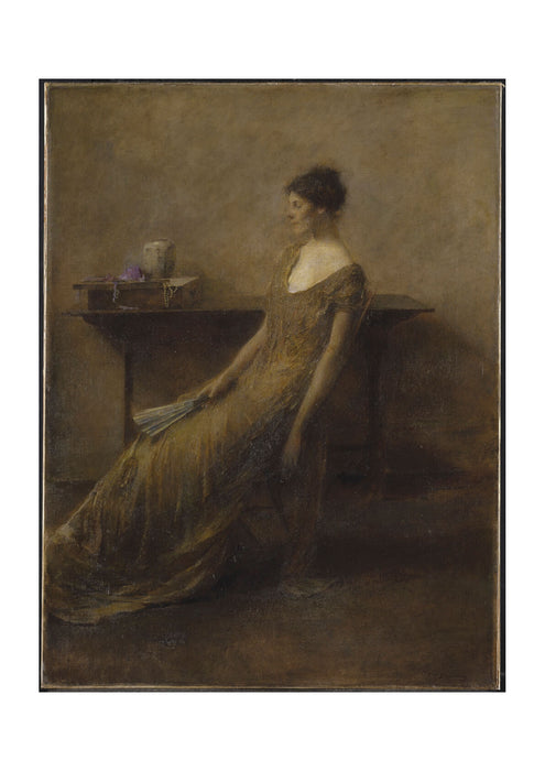 Thomas Wilmer Dewing Lady in Gold