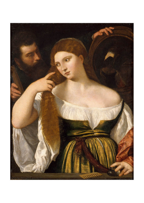 Titian - Girl Before the Mirror