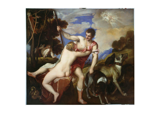 Titian - Venus and Adonis Bright