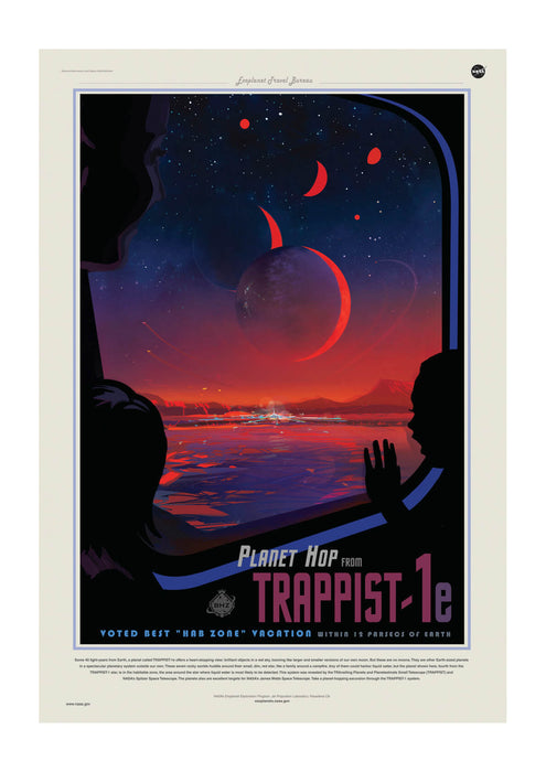 Trappist-1e NASA Space Tourism