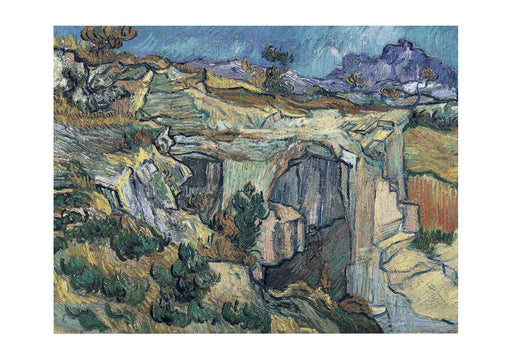 Vincent Van Gogh - Entrance to a Quarry near Saint-Remy, 1889