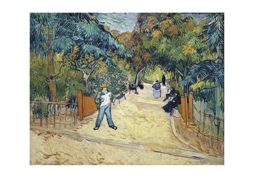 Vincent Van Gogh - Entrance to the Public Garden in Arles, 1888