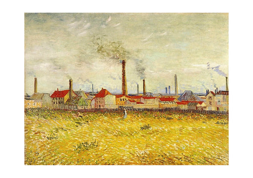 Vincent Van Gogh - Factories at Asnieres