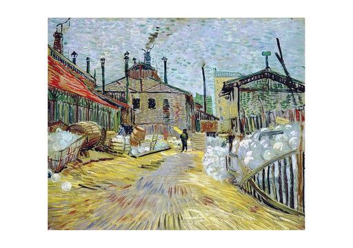 Vincent Van Gogh - Factory at Asnieres, 1887