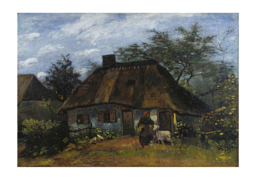 Vincent Van Gogh - Farmhouse in Nuenen