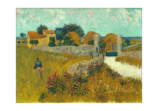 Vincent Van Gogh - Farmhouse in Provence, 1888