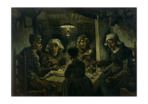 Vincent Van Gogh - The Potato Eaters, 1885 01