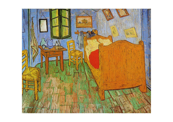 Vincent Van Gogh - Vincent's Bedroom in Aries