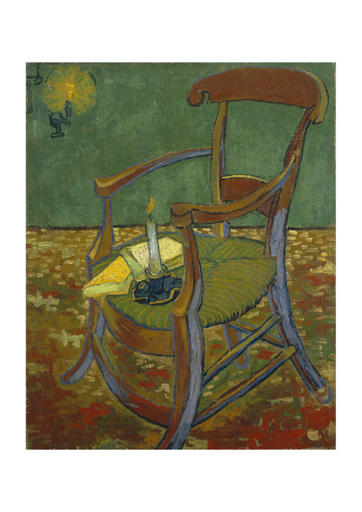 Vincent Van Gogh Gauguin's Chair, 1888