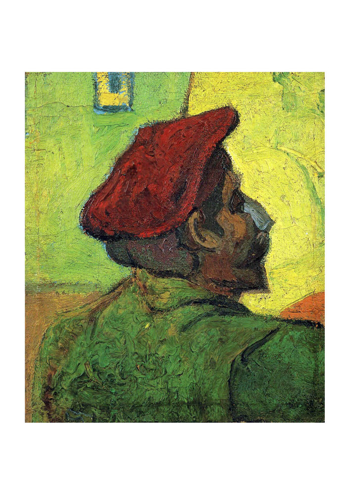 Vincent Van Gogh Paul Gauguin (Man in a Red Beret), 1888