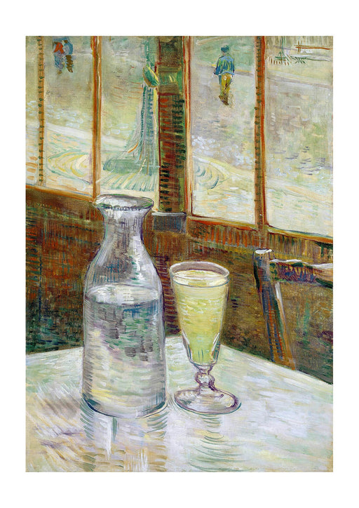 Vincent Van Gogh Still Life with Absinthe, 1887