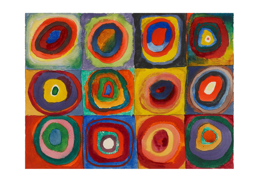 Wassily Kandinsky - Squares with Concentric Circles 1913