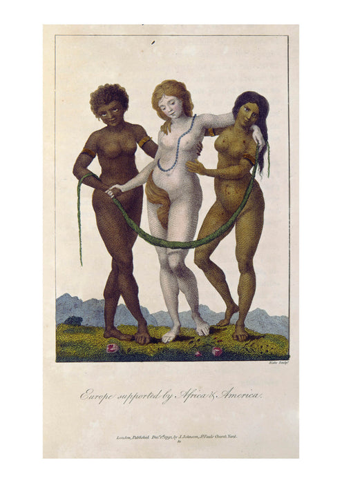 William Blake - Europe Supported by Africa and America