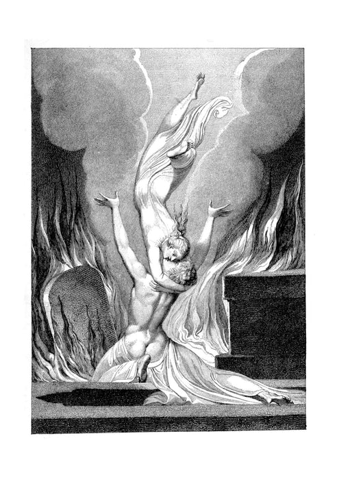 William Blake - Falling
