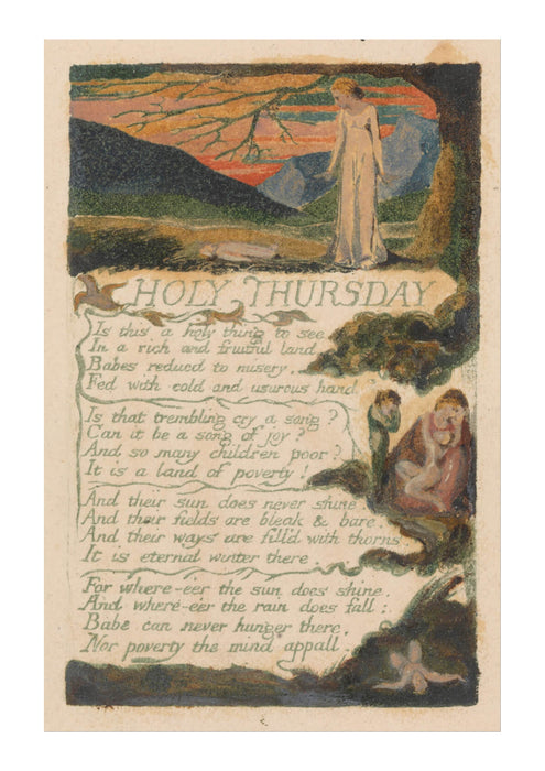William Blake - Holy Thursday