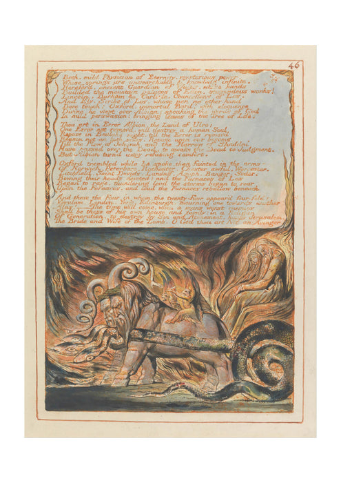 William Blake - Jerusalem Plate 46