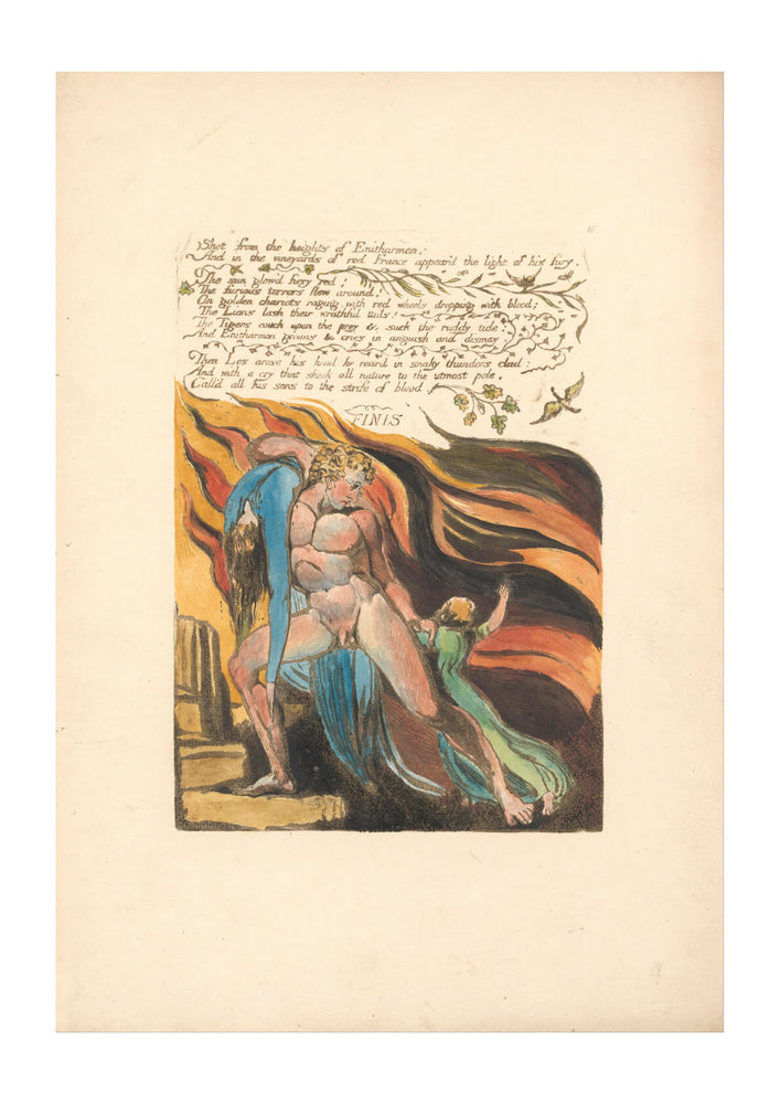 William Blake - Shot from the heights