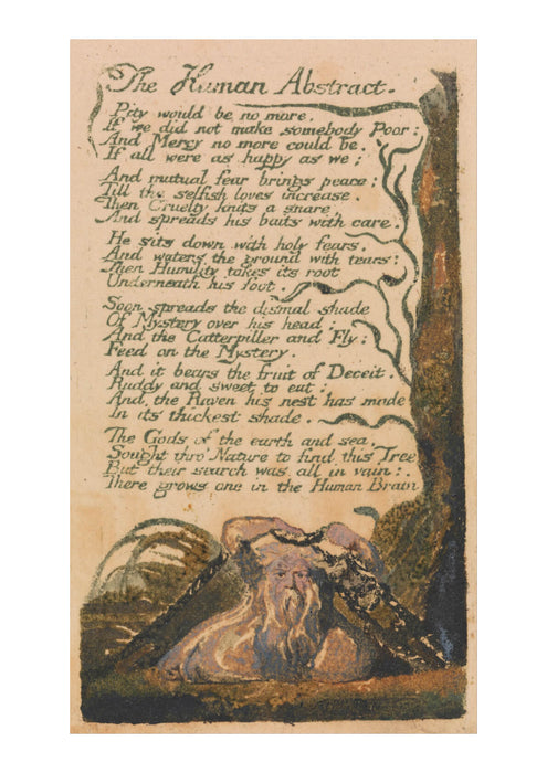 William Blake - The Human Abstract
