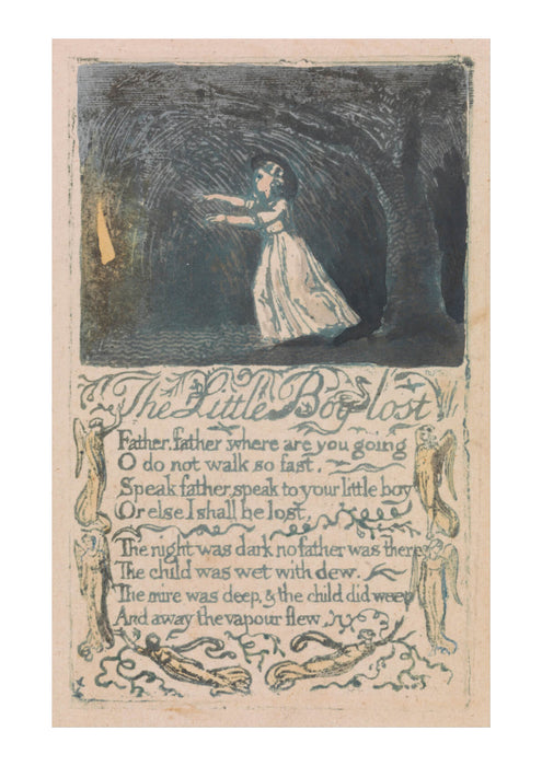 William Blake - The Little Boy Lost