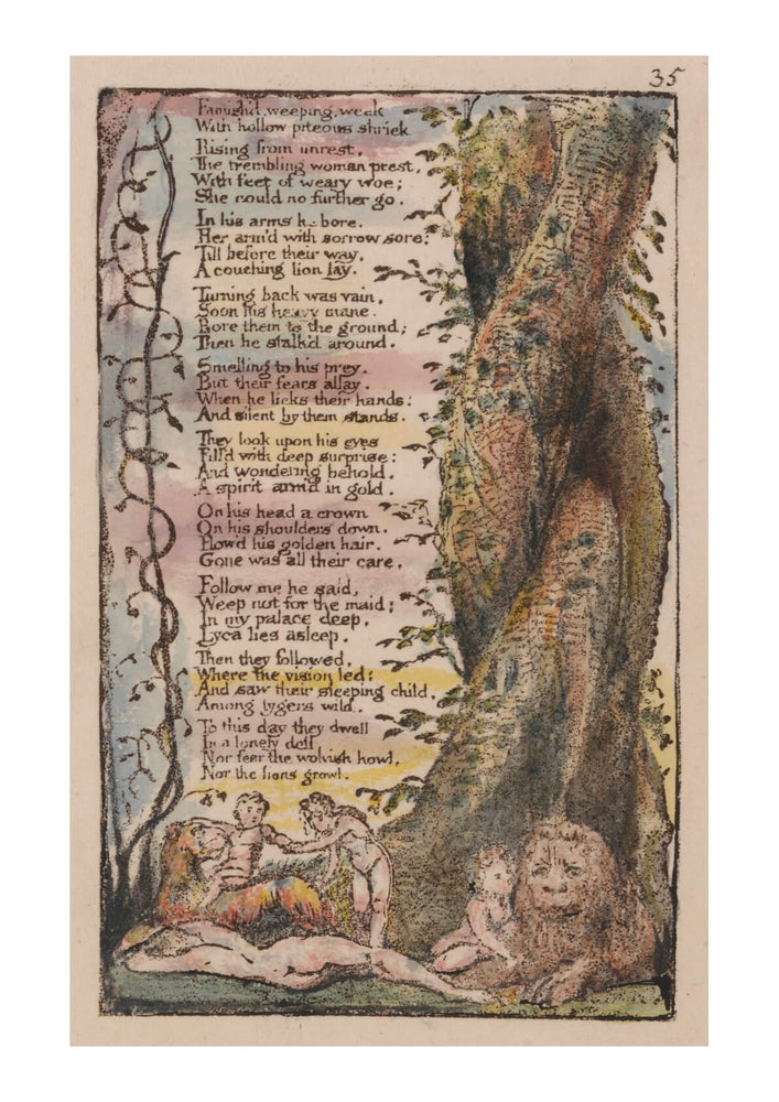 William Blake - The Little Girl Found Poem