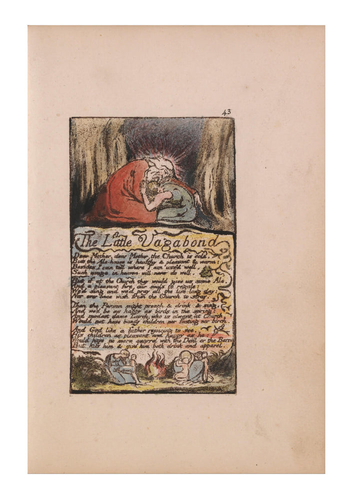 William Blake - The Little Vagabond