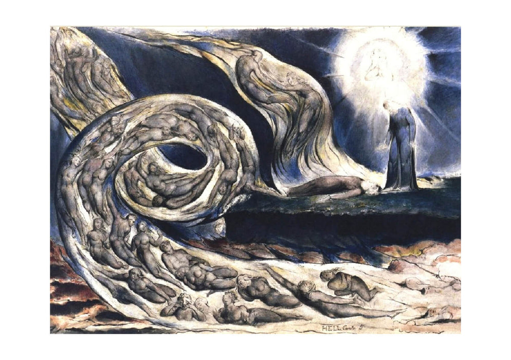 William Blake - The Lovers Whirlwind