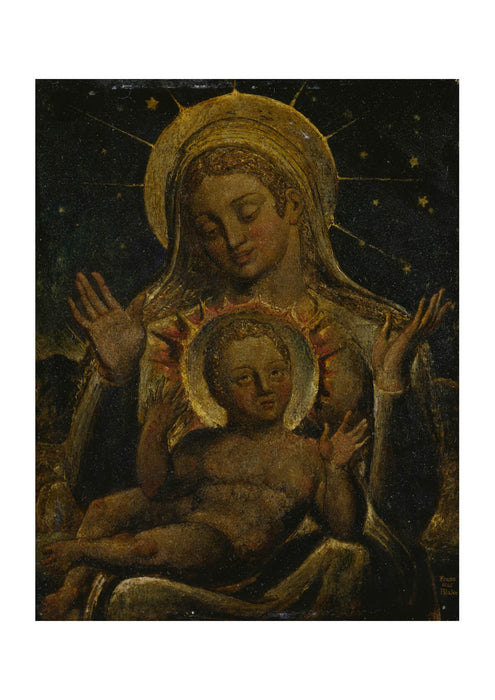 William Blake - Virgin and Child