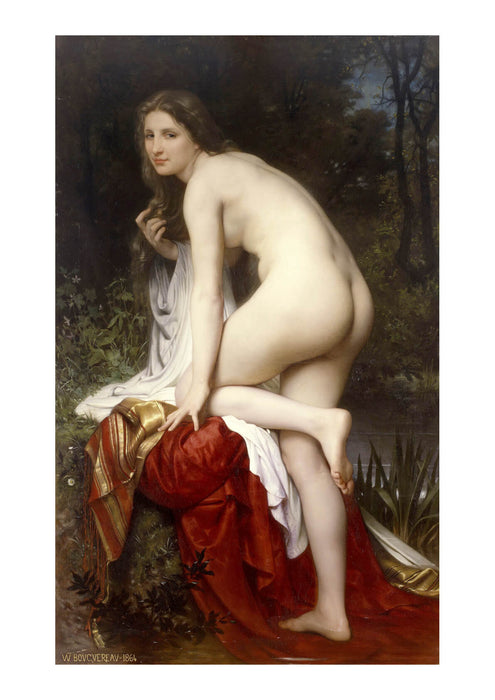 William Bouguereau - Baigneuse