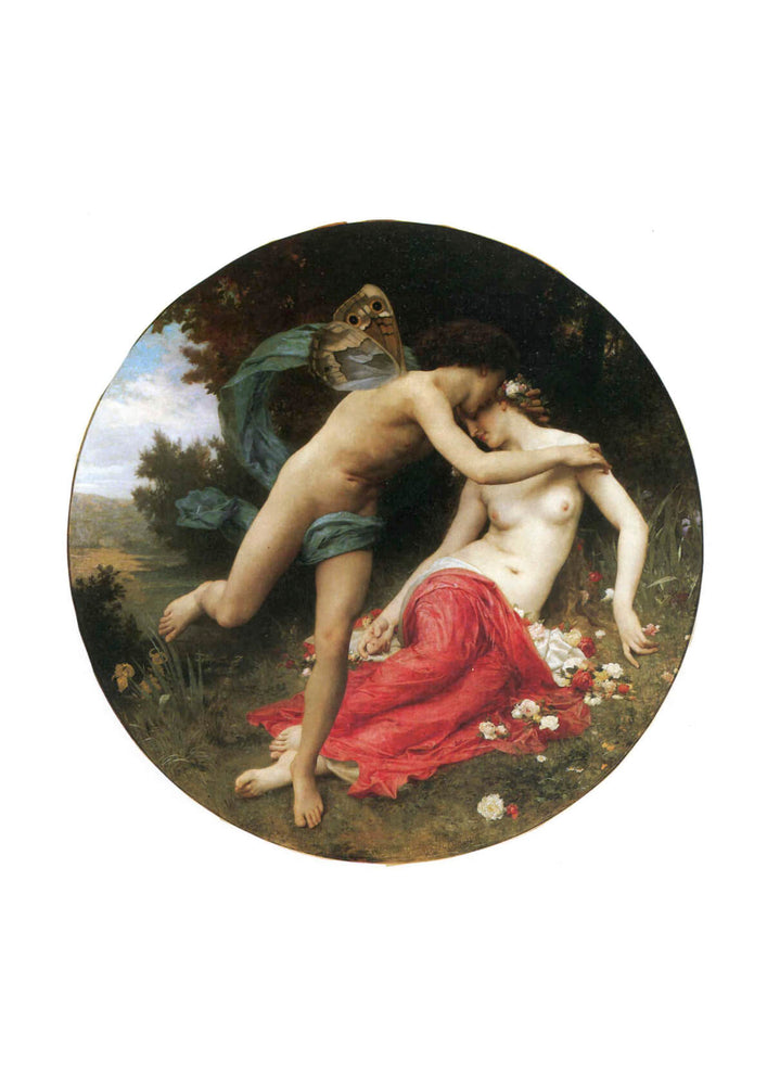 William Bouguereau - Flora And Zephyr (1875)