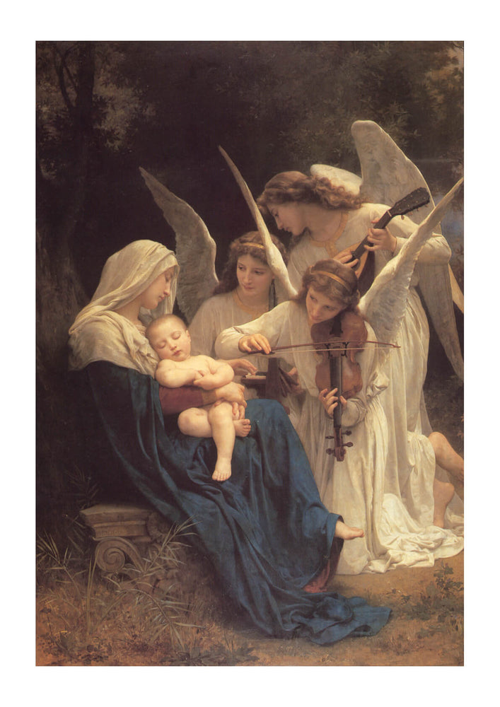 William Bouguereau - Le chant des anges 1881
