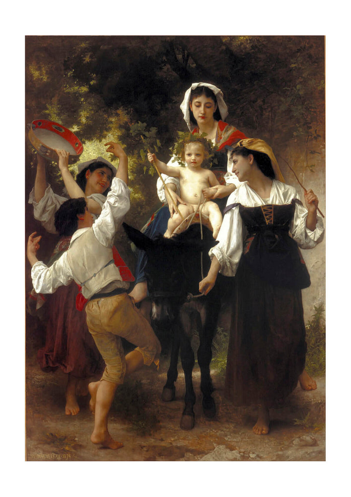 William Bouguereau - Return from the Harvest (1878)