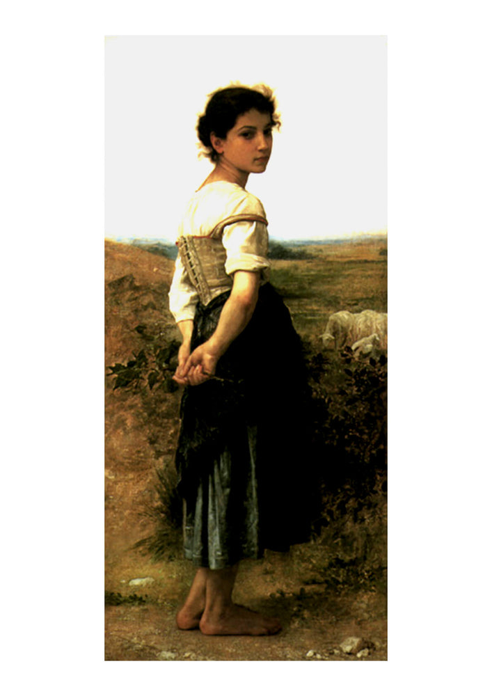 William Bouguereau - The Young Shepherdess (1895)
