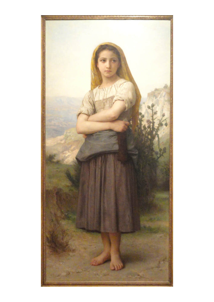 William Bouguereau - Young Girl