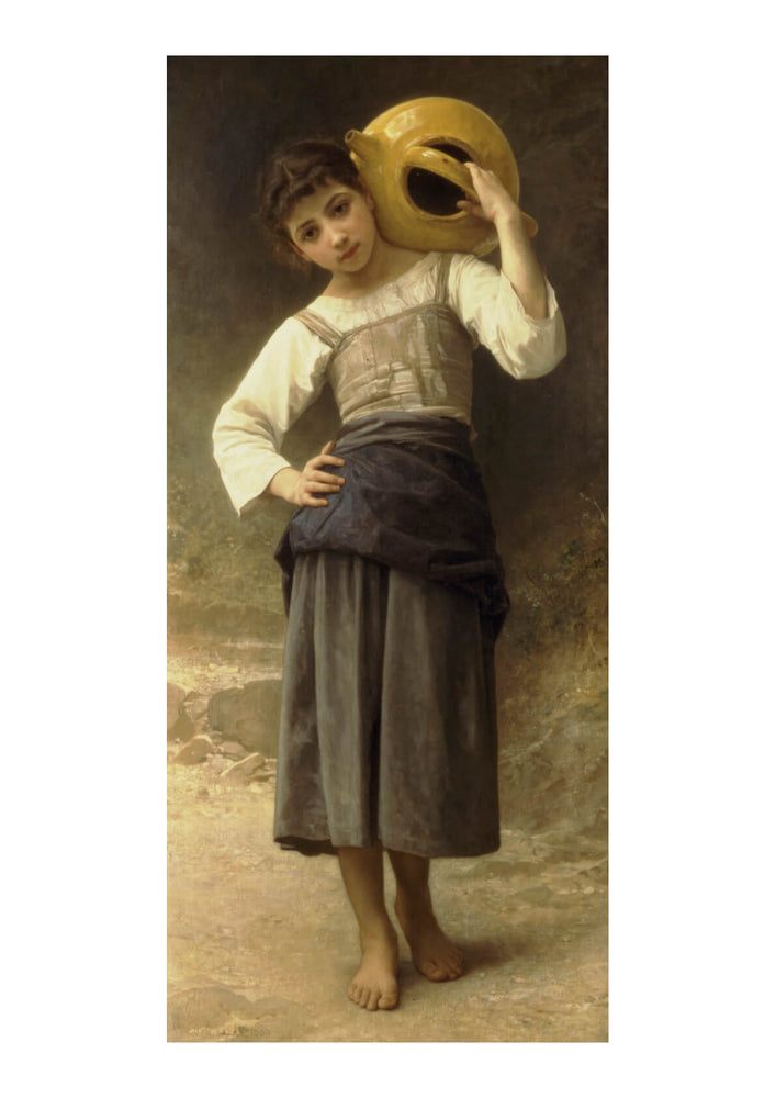 William Bouguereau - Young Girl Going to the Spring (1885)