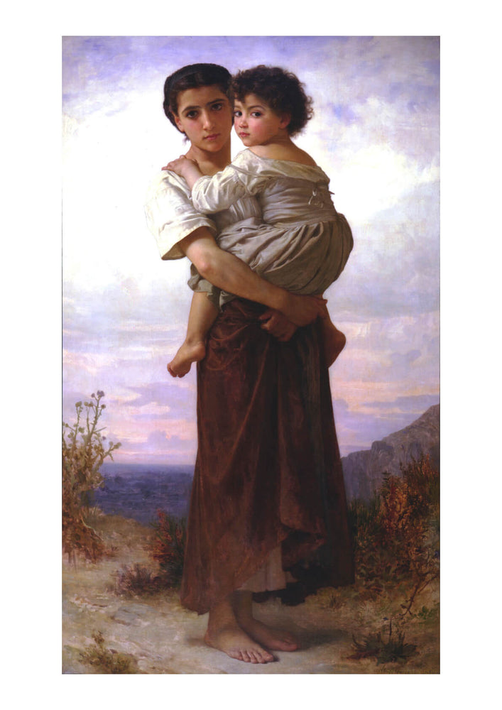 William Bouguereau - Young Gypsies (1879)