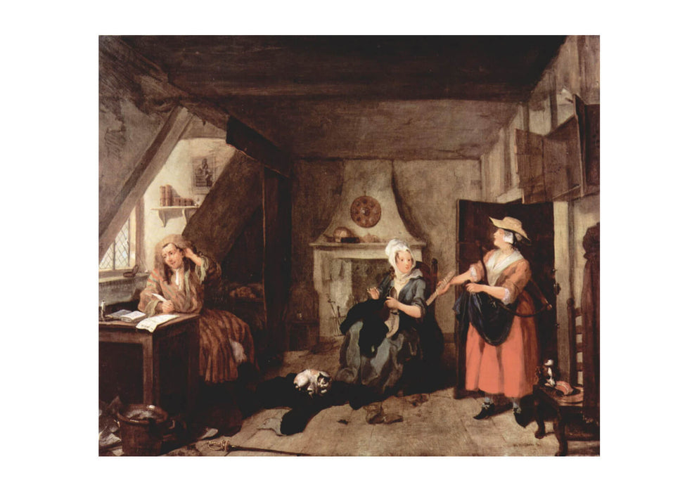 William Hogarth - In the Room