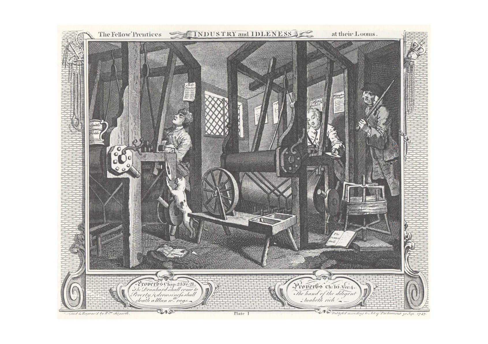 William Hogarth - Industry and Idleness