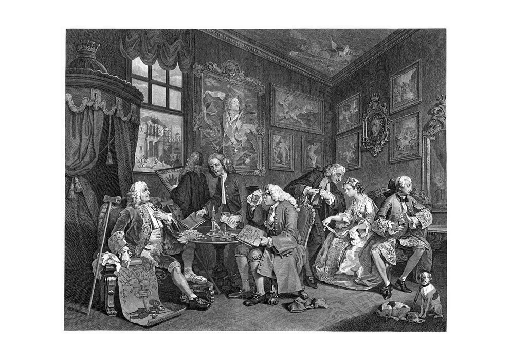 William Hogarth - Marriage-a-la-mode