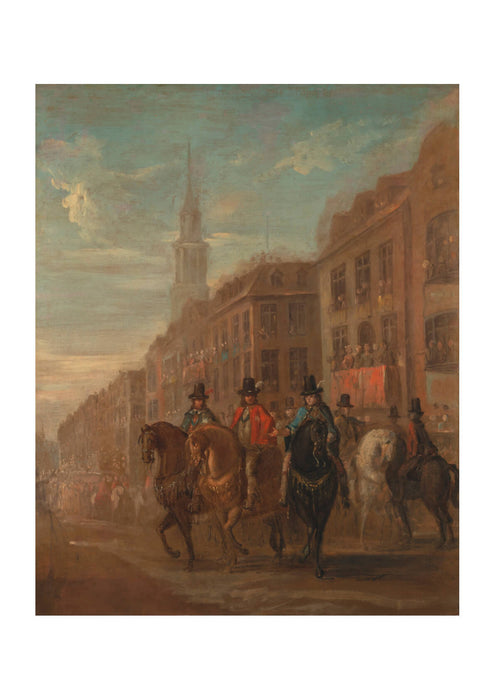 William Hogarth - Restoration Procession