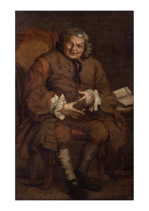 William Hogarth - Simon Fraser 11th Baron Lovat