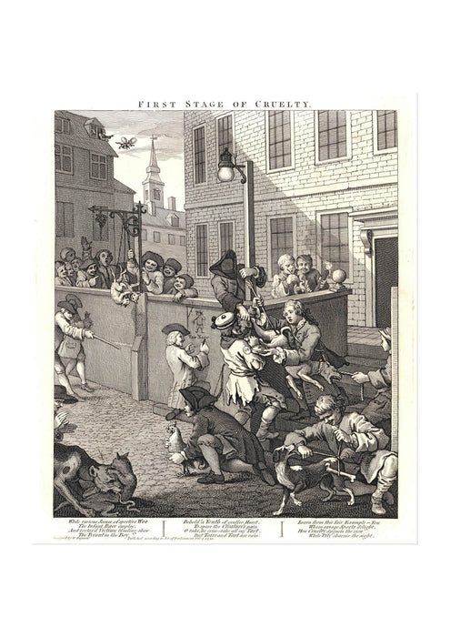 William Hogarth - The First Stage of Cruelty