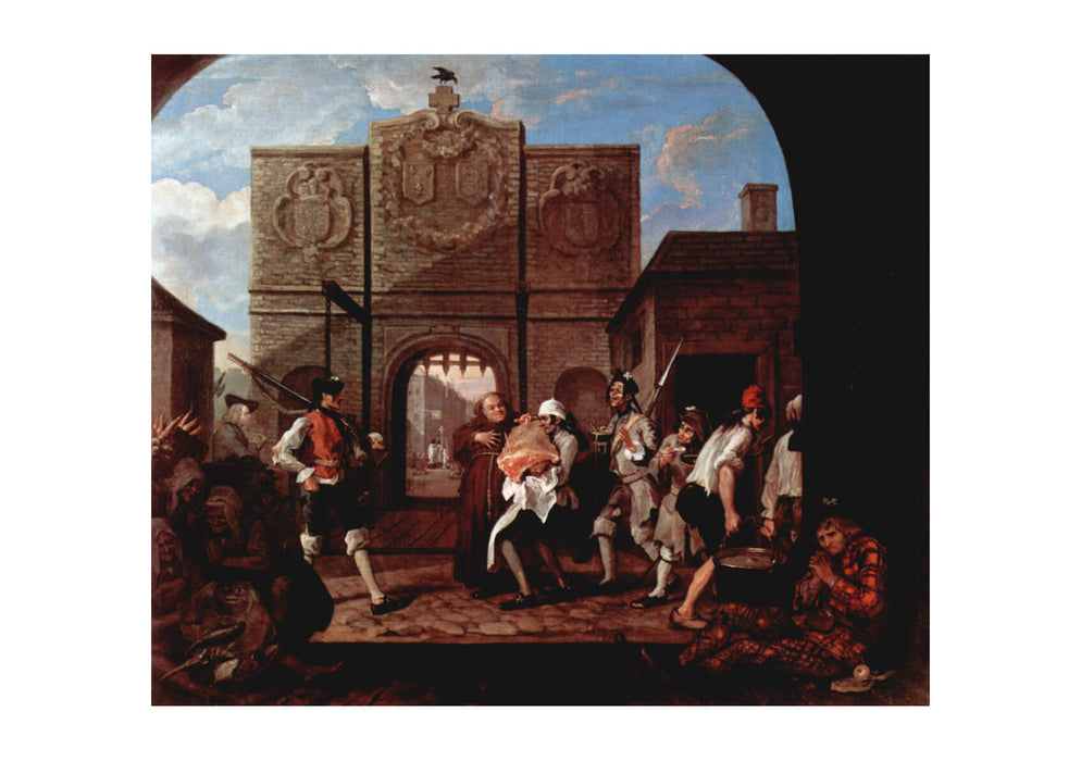 William Hogarth - The Streets