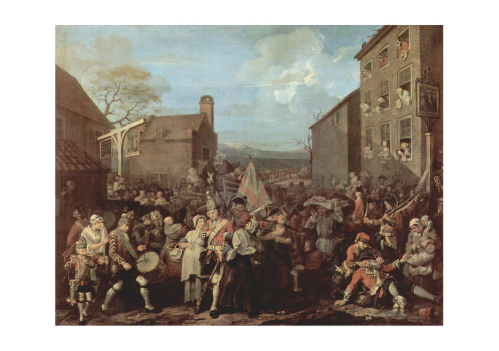 William Hogarth - Town Folk